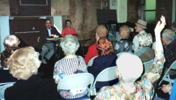 Aesthetic Realism Talks to Seniors in Queens