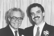 Bruce Blaustein and his father, David Blaustein