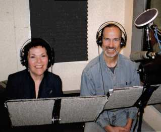 Recoding session for Thomas Comma, Anne Fielding & Timothy Lynch